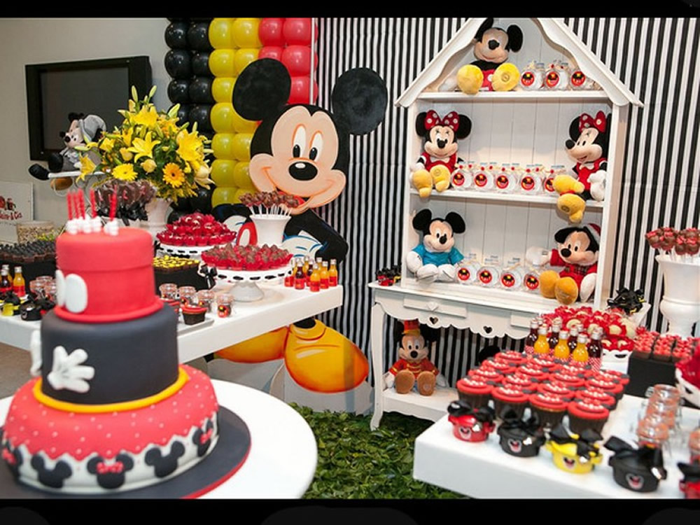 decoracao mickey e minnie